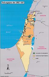 Landkarten und Teilungspläne Palästinas