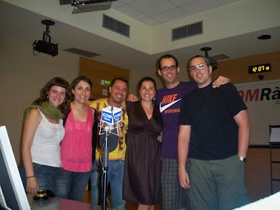 l'equip de Serendípia Com Ràdio 2009