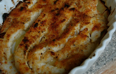Baked Halibut Limone Recipe