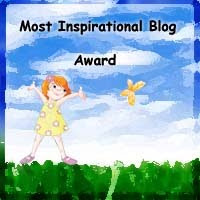Most Inspirational Blog Award