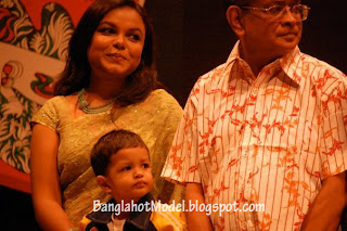 Humayun Ahmed with his son Nisad