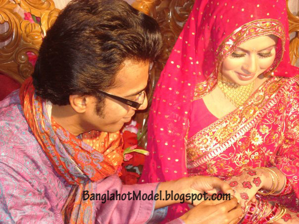 Bappa mazumder And Chadni Wedding Picture Gallery Bangladeshi Hot Model