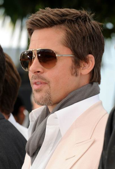 Brad Pitt Long Hair Style Brad Pitt. Celebrity. Second rule of Rob's fight