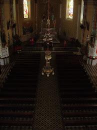 Interior da Igreja Sto. Estanislau