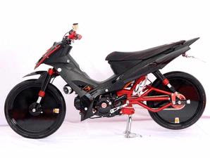 Yamaha Vega Full Variasi Drag Model Modifikasi Vega R 2008