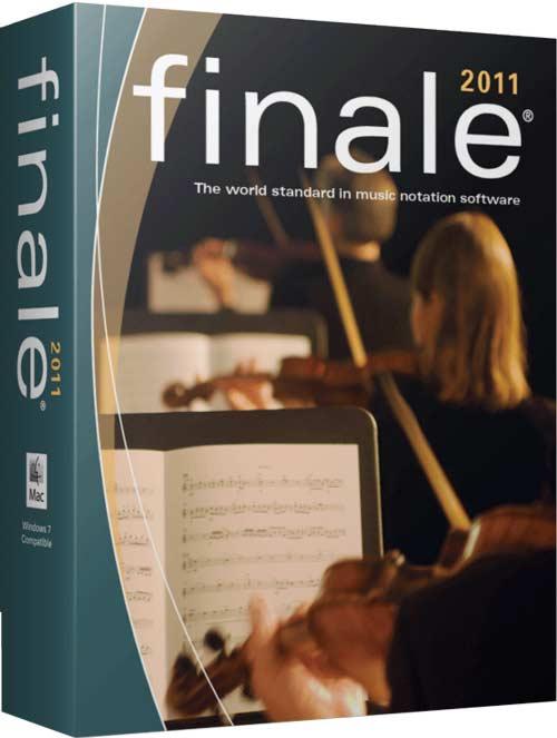 Make Music FINALE 2011 R2 (WIN/MAC), Poderoso Software de Notación