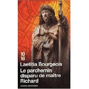 Le Parchemin disparu de maître Richard, ed 10/18 2009