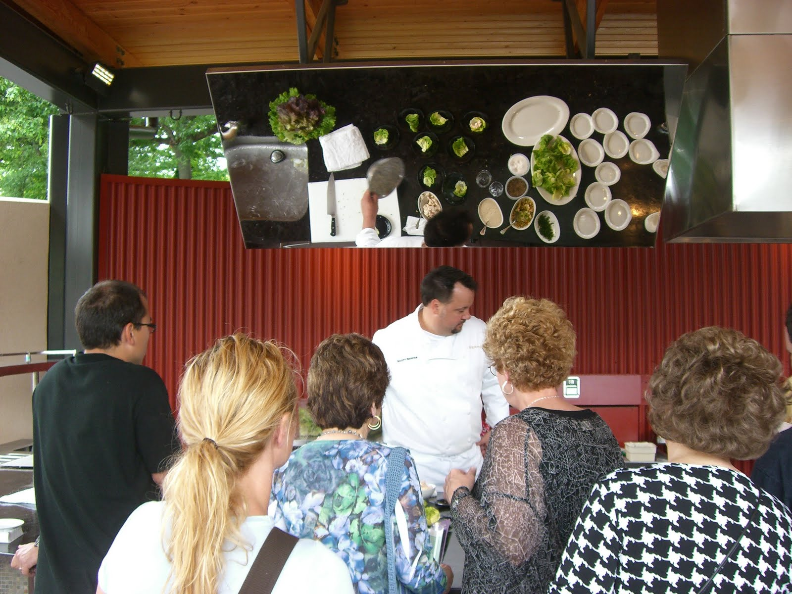 Demonstration Kitchen Outdoor plant to plate: edible garden outdoor kitchen