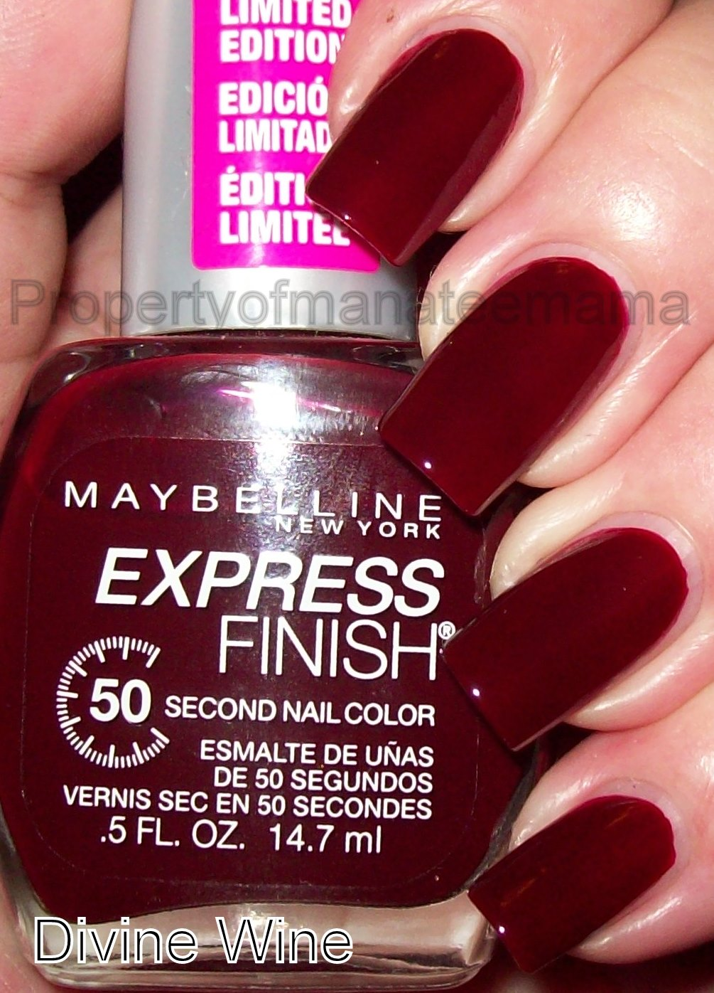 The Manicured Manatee: Maybelline New York Fashion Week 2010