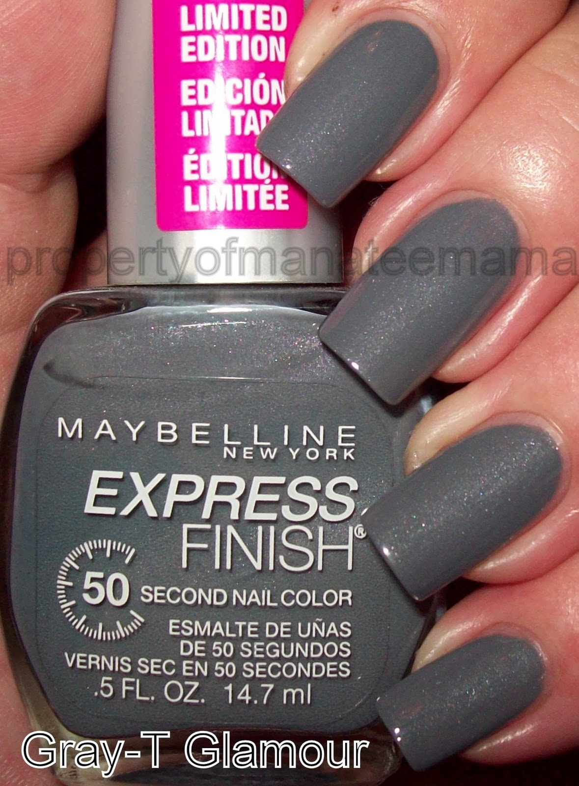 The Manicured Manatee: Maybelline New York Fashion Week 2010