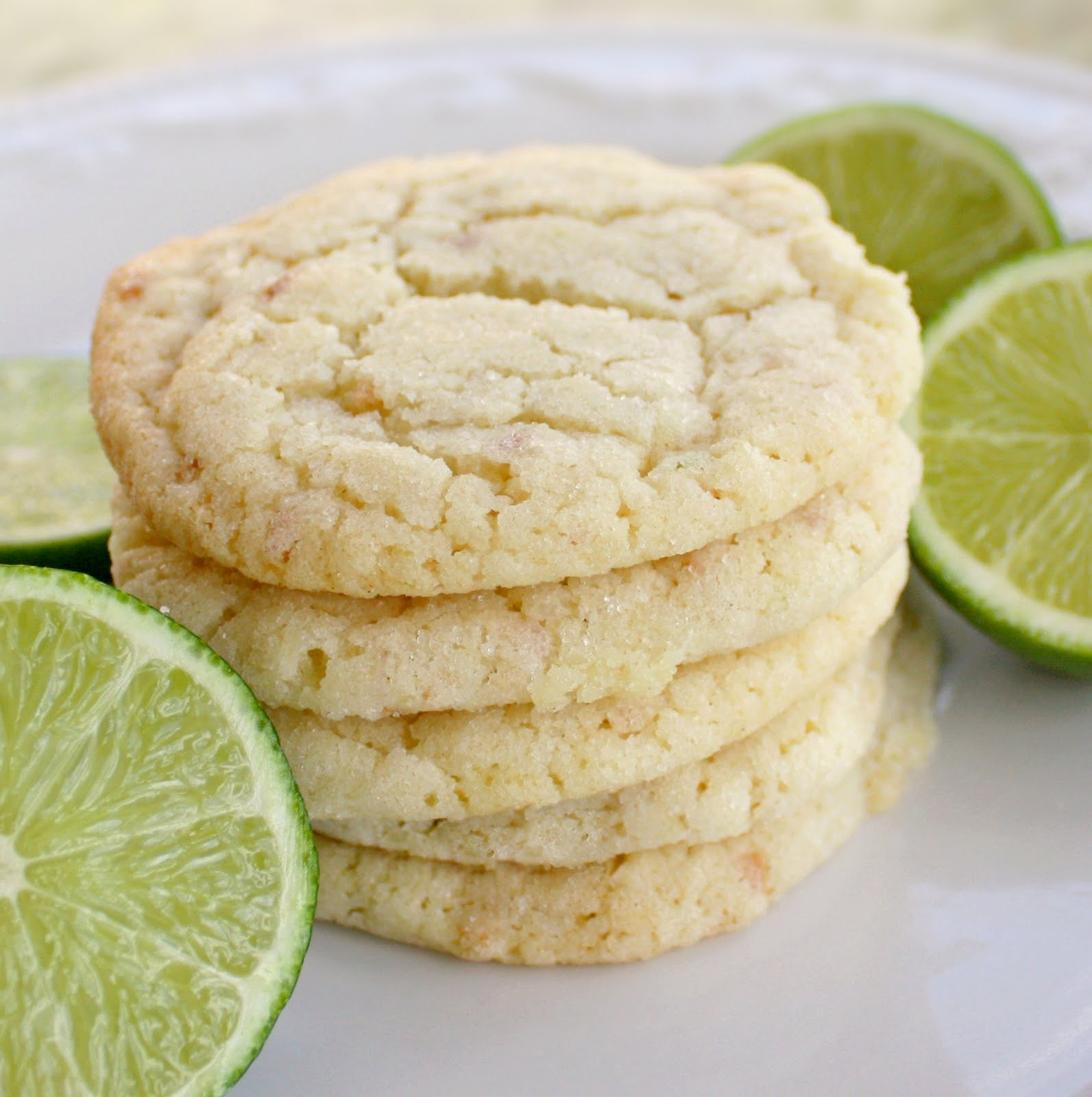 Chewy Lime And Coconut Sugar Cookies Recipe — Dishmaps