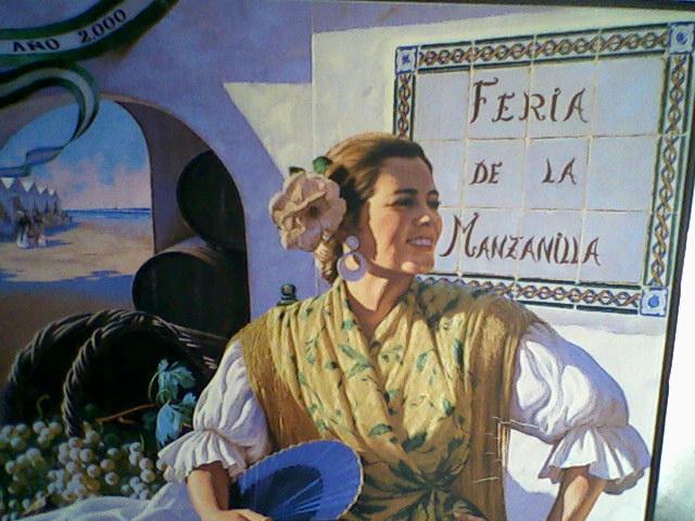 Cartel, FERIA DE LA MANZANILLA, año 2000