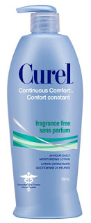 Curel Continuous Comfort Fragrance-Free Lotion