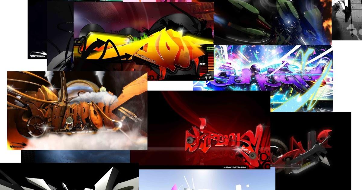 Sablon Kaos Satuan: Download 3d Graffiti Wallpapers