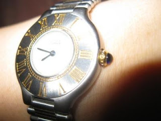 слънце - Ах, тези бижута! 64963857_3-FS-CARTIER-MUST-DE-FOR-WOMEN-EXCELLENT-CONDITION-ALMOST-NEW-PA-WHITE-DIAL-2-TONE-UNI-Jewelry-Watches