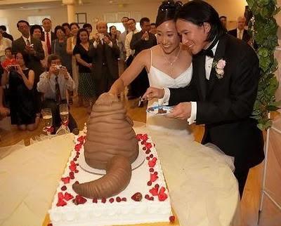 торта - Сватбената торта Funny+wedding+cakes+14