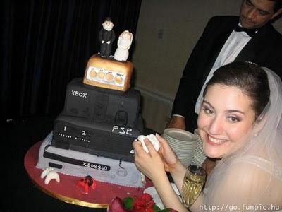 торта - Сватбената торта Funny+wedding+cakes+20