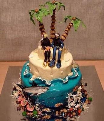 торта - Сватбената торта Funny+wedding+cakes+27