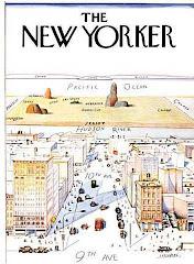 Ilustração de Saul Steinberg