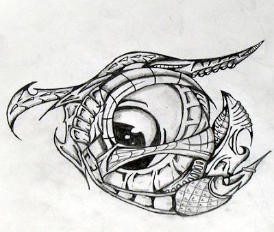 ( eye tattoo design)