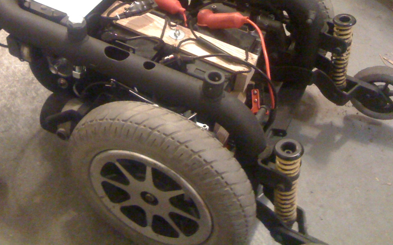 Robot roots wheels and motor controller attached for Robot motors and wheels