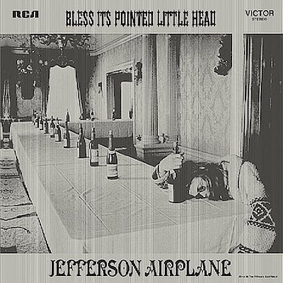 Cover Album of Jefferson Airplane - Bless Its Pointed Little Head (1969)