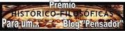"Prémio ""Blog Pensador"""