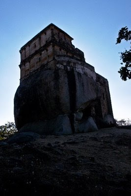 Posted by Vibha Malhotra : Madan Mahal - Watch Tower of the Past : The First View of the Madan Mahal Fort
