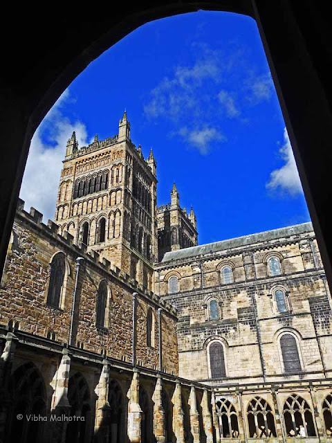 The Western Towers from the Cloisters