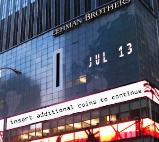 Lehman Brothers Insert Coins