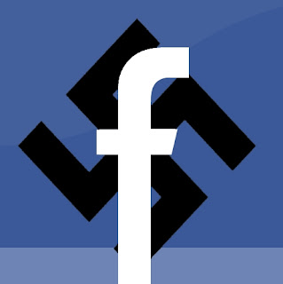 Facebook Nazi Swastika