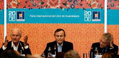 Carlos Fuentes, Juan José Bremer y Felipe González