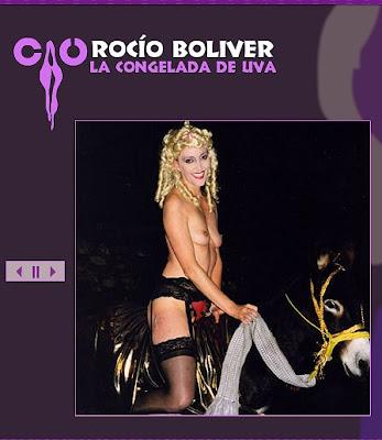 Rocío Boliver/La Congelada de Uva