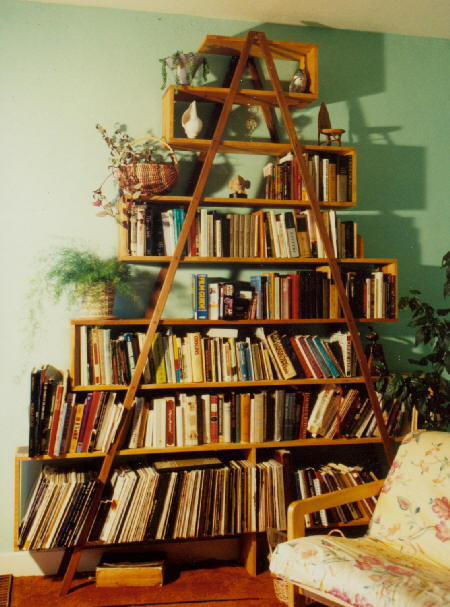 Antisociology booked - Triangular bookshelf ...
