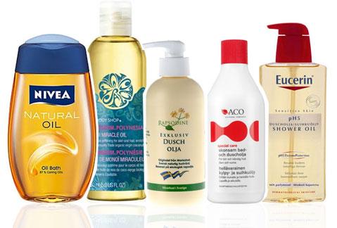 bästa duschkrämen för torr hud
