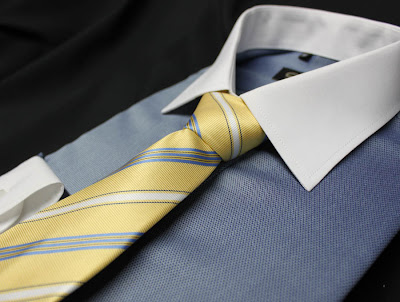 Camisa de Vestir Azul Liso Claro - Oferta