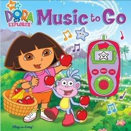 nick jr dora the explorer music to go