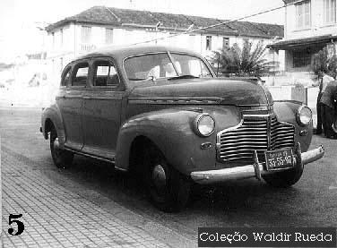 Foto antiga de Santos em 1958 - arquivo Policia Civil coleção de Waldir Rueda