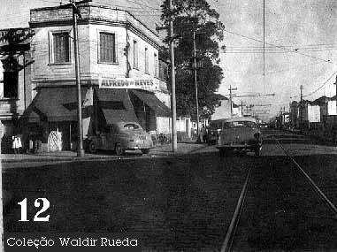 Foto antiga de Santos em 1958 - fotos do arquivo Policia Civil coleção de Waldir Rueda