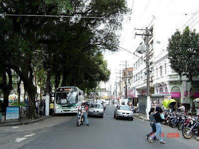 Praça Mauá - Santos - SP - Foto de Emilio Pechini em 17/09/2008