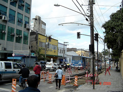 Avenida São Francisco em Santos - SP - Foto de Emilio Pechini em 17/09/2008