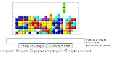 Google comemora 25 Anos de Tetris