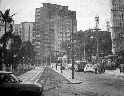 Cidade de Santos, agosto de 1971