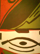El ojo del pez japonés