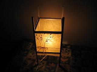 Lampadario Carta Di Riso : Ngotto passion: lampada in carta di riso