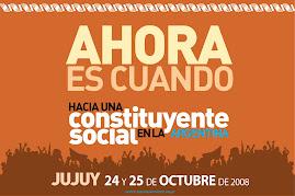 Hacia una Constituyente Social en Argentina