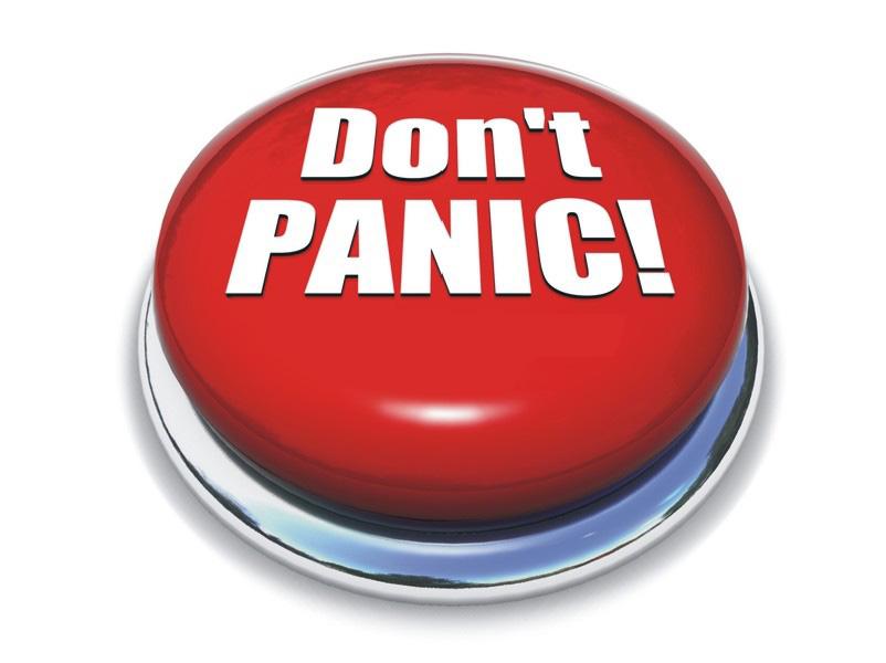 don t panic button 6 Cara Aman Mendelay Permainan