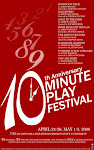 10th annual 10 Minute Play Fest Begins April 24!