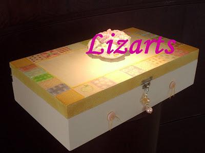 caixa de costura mdf com textura
