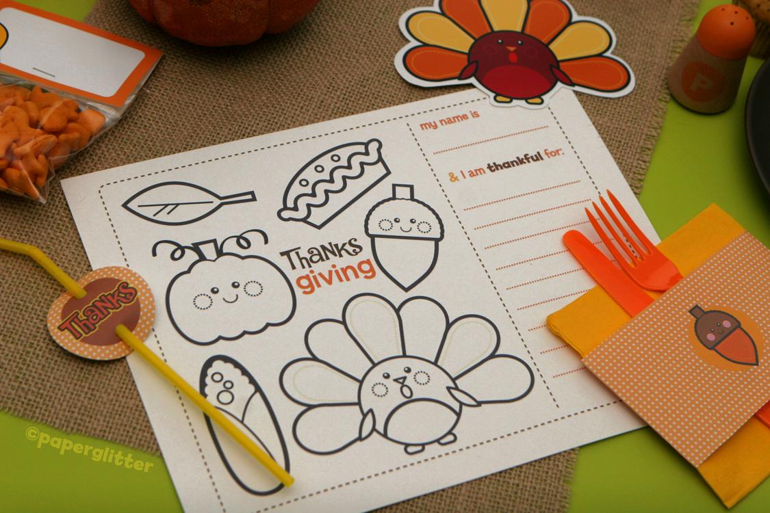 Free Thanksgiving Fall Kit